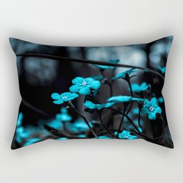 night flowers Rectangular Pillow