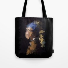 Panelscape Iconic  - Girl with a Pearl Earring Tote Bag