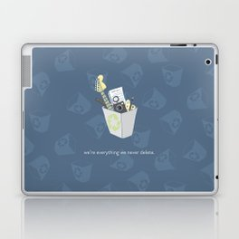 Never Delete Laptop & iPad Skin