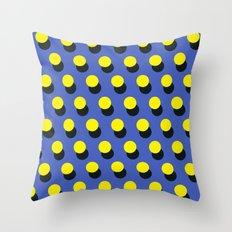 Memphis pattern 15 Throw Pillow