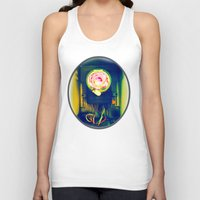 industrial Tank Tops featuring Industrial Bloom by JosephusBartin