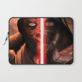 Darth Maul & Vader split Laptop Sleeve