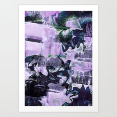 emotion infused thoughts Art Print
