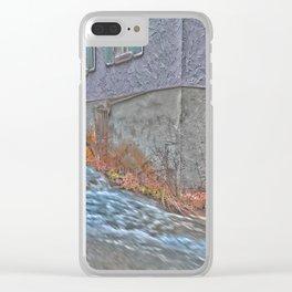 River Blau - Ulm ( Fischerviertel ) Clear iPhone Case