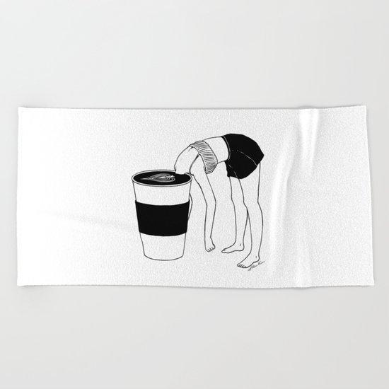 Coffee, First Beach Towel
