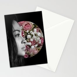 Where's your Smile at, Mona Lisa? Stationery Cards