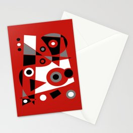 Abstract #905 Stationery Cards