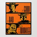 The Good, the bad and the wookiee by meleeninja