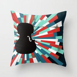 Shostakovich Cello Concerto Throw Pillow