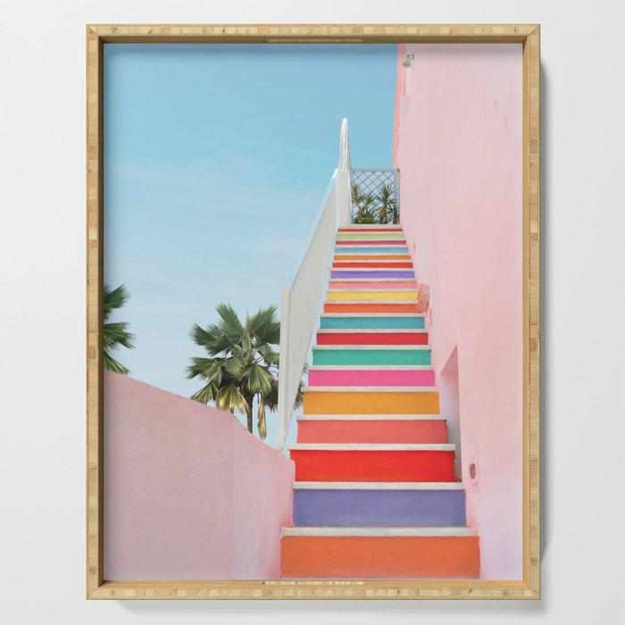 Rainbow Stairway Serving Tray
