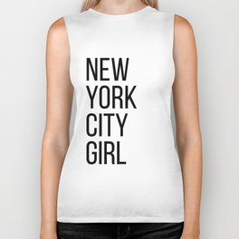 New York city girl Biker Tank