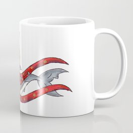Reindeer Shark Coffee Mug