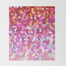 Mosaic Sparkley Texture G148 Throw Blanket