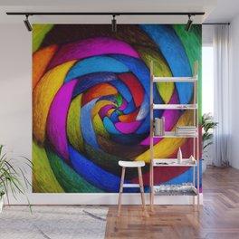 Spun Wool Wall Mural