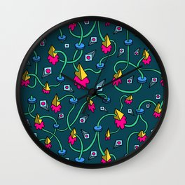 Joints of View Wall Clock