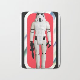 Stormtrooper : Vintage Kenner action figure Smaller Size Bath Mat