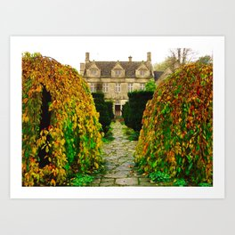 The Cotswolds In Autumn Art Print