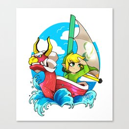 WIND WAKER Canvas Print