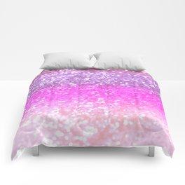 Unicorn Girls Glitter #1 #shiny #decor #art #society6 Comforters