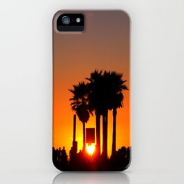 Venice Beach Sunset iPhone Case