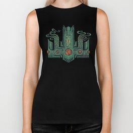The Crown of Cthulhu Biker Tank