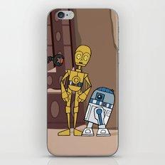 EP6 : C-3PO & R2-D2 iPhone & iPod Skin
