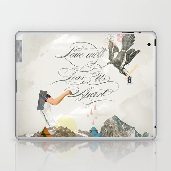 L.W.T.U.A (Love will tear us apart) Laptop & iPad Skin