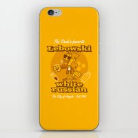 the big lebowski iPhone & iPod Skins featuring The Big Lebowski by Giovanni Costa