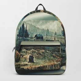 Snow In The Vaucluse Backpack