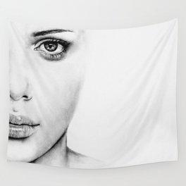 Barely Scarlett  Wall Tapestry