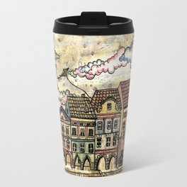 """Danish houses"" Travel Mug"