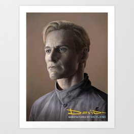 David (Prometheus)  Art Print