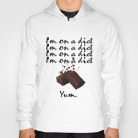 chocolate Hoodies featuring Chocolate by Thomsky
