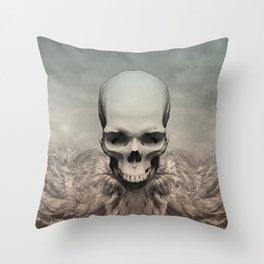 Dead eagle Throw Pillow