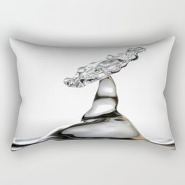Cold shot glass drop Rectangular Pillow