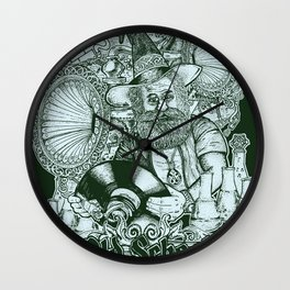 Old School Never Dies Wall Clock