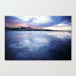An Irish sunset. Canvas Print