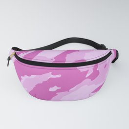 Colorful Marble Abstract Style Pink Fanny Pack