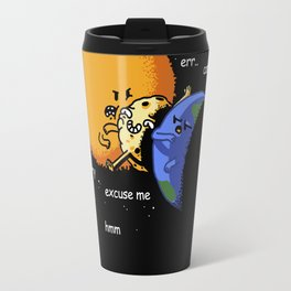 Excuse Me Total Solar Eclipse August 21 2017 Travel Mug