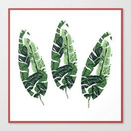 leaf within a leaf Canvas Print