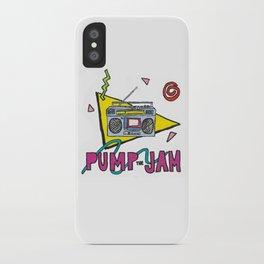 pump the jam iPhone Case