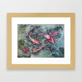Harmony (Watercolor Painting) Framed Art Print