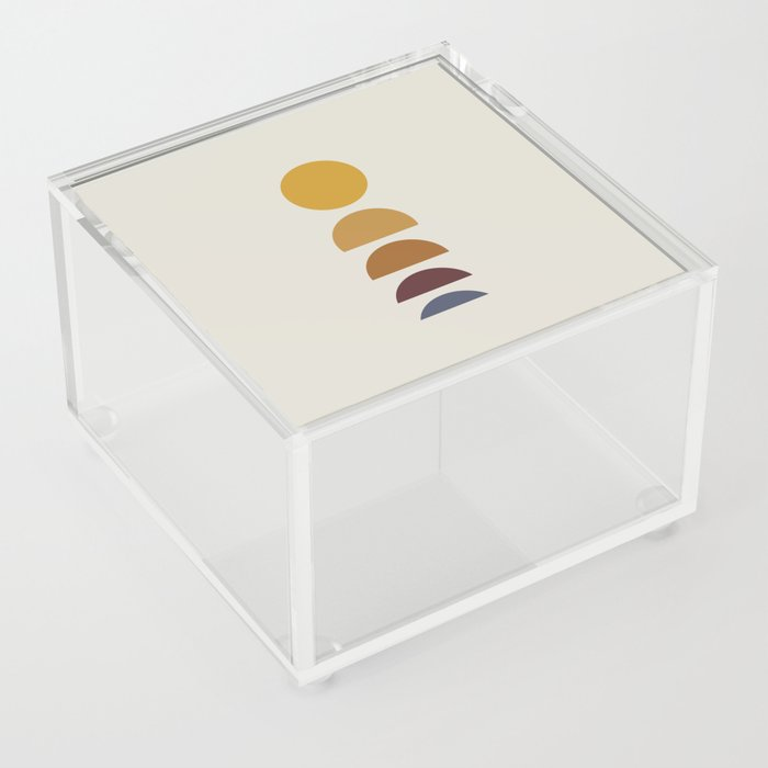 Minimal Sunrise / Sunset Acrylic Box