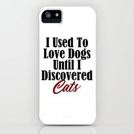 Funny Cat Dog Kitty Lover Meow Kitten Pet Whisperer iPhone Case