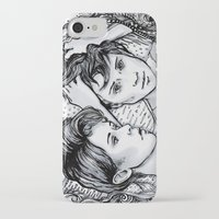tegan and sara iPhone & iPod Cases featuring Tegan & Sara by JenHoney