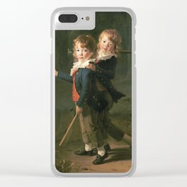 Henri - Pierre Danloux - The Masters Foster Clear iPhone Case
