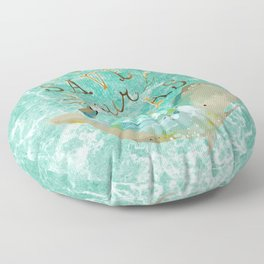 Save our Seas Floor Pillow
