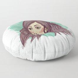Mermaid Hair Floor Pillow