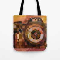 rebel Tote Bags featuring Rebel by S.G. DeCarlo