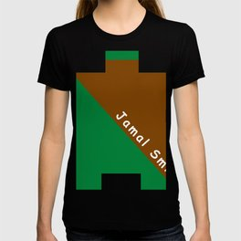 Ninja Green and Brown T-shirt